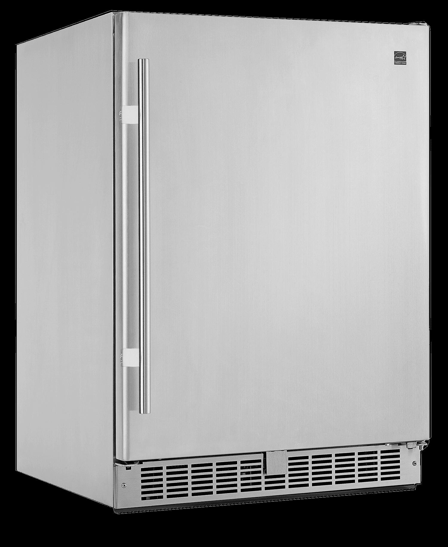 sleek outdoor refrigeration